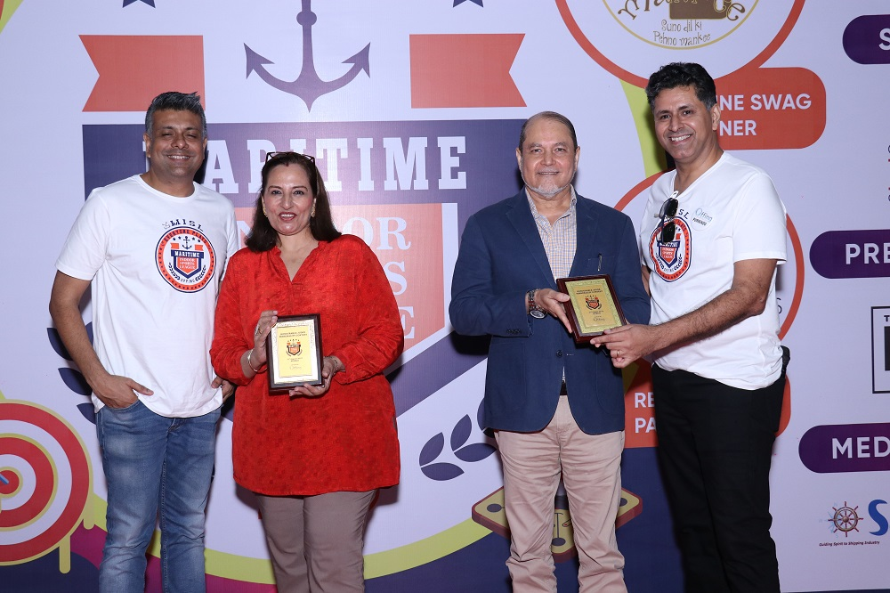 Judges of the Maritime Personality of the Year - Mrs Renuka Nayar & Capt . Kamal Chadda