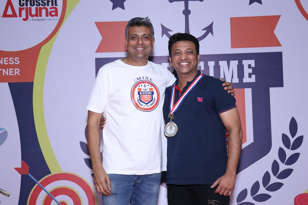 Runner - Up Fitness Challenge Male Pratik Khatu from Teekay Shipping (IND) PVT LTD
